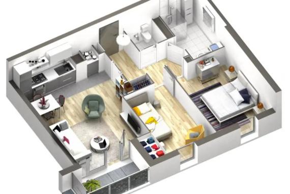 Appartement residence des lumières
